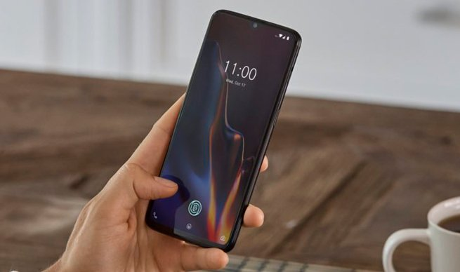 OnePlus 6T in-screen fingerprint