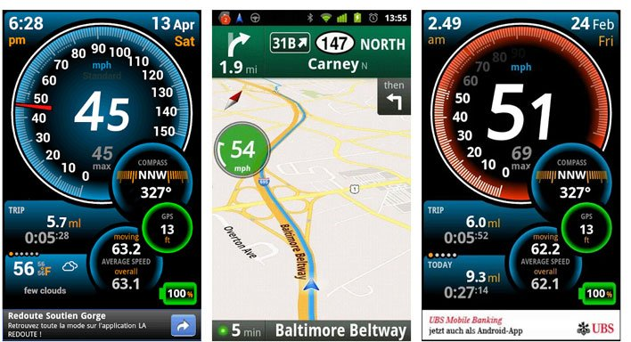 Best Speedometer Apps for Android