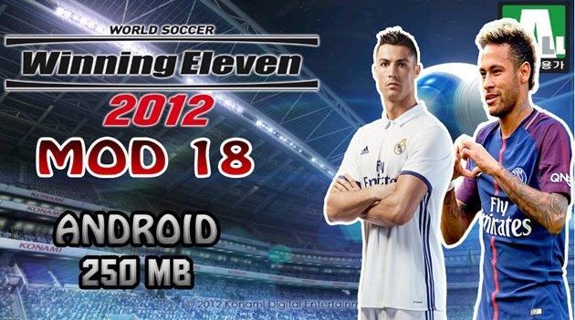 Download Winning Eleven 2012 Apk WE 2018 Apk Mod