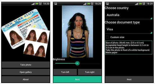 passport size photo editor apps