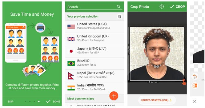 passport size photo editor apps