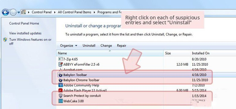 Remove Noad Variance TV Adware on PC
