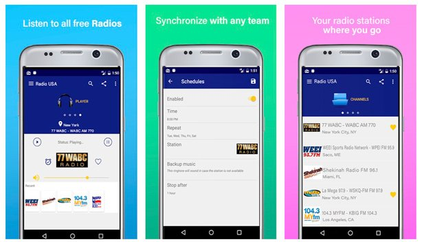 best fm radio apps for android