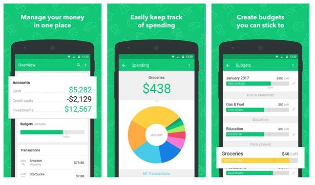 budget apps for android