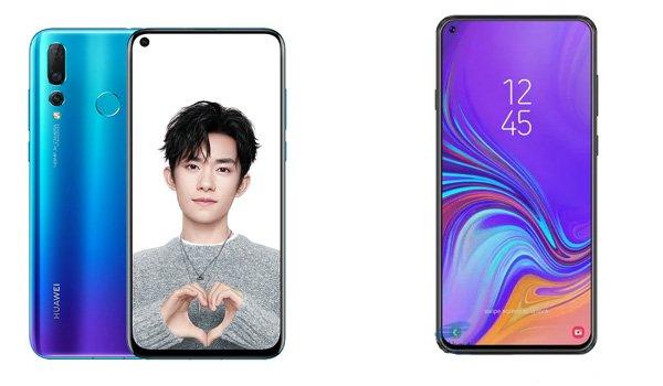 Huawei Nova 4 vs Samsung Galaxy A8s