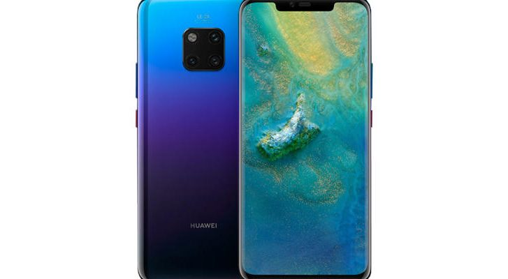 hide the notch on huawei mate 20 pro