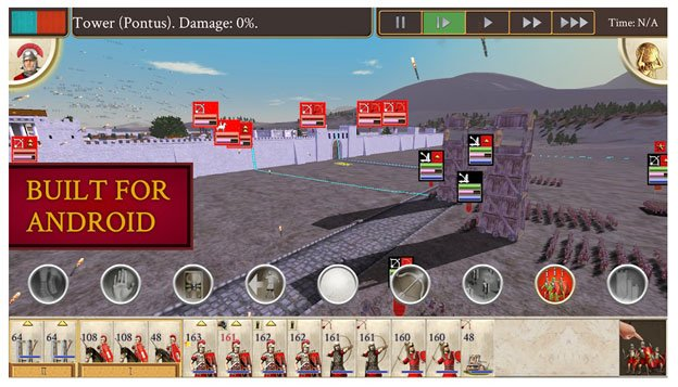 rome total war apk + data mod