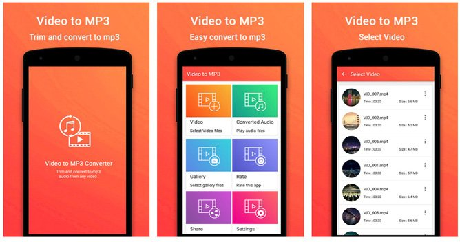 video to mp3 converter apps
