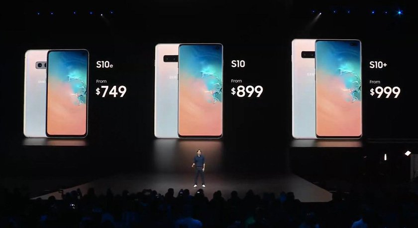 galaxy s10 lineup prices