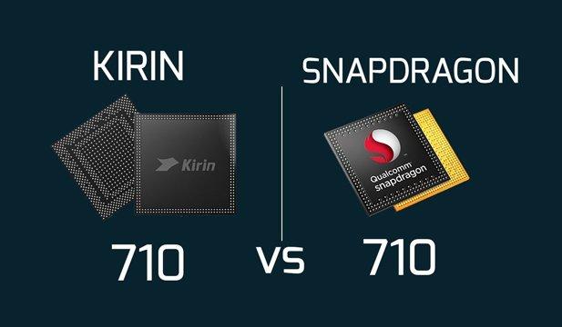 HiSilicon Kirin 710 vs Qualcomm Snapdragon
