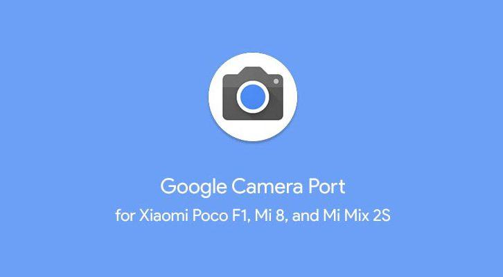 google pixel 3 camera port for xiaomi poco f1