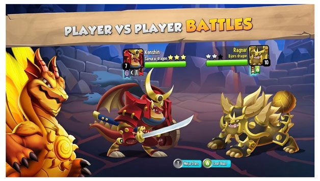 Download Dragon City Mod APK Unlimited Gems, Food, Money, Gold