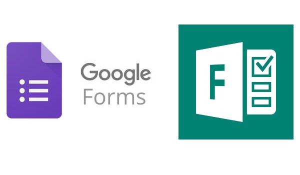 Google Forms vs Microsoft forms