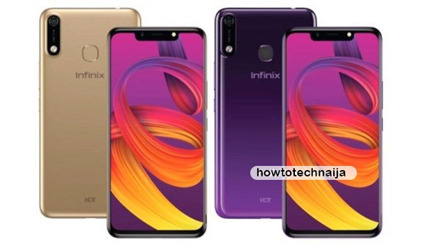 infinix hot 7 colours and design
