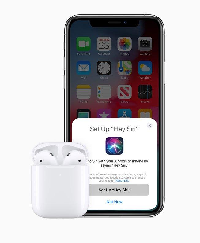 hey siri, new apple airpods