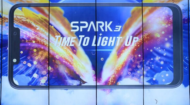 tecno spark 3 series launch