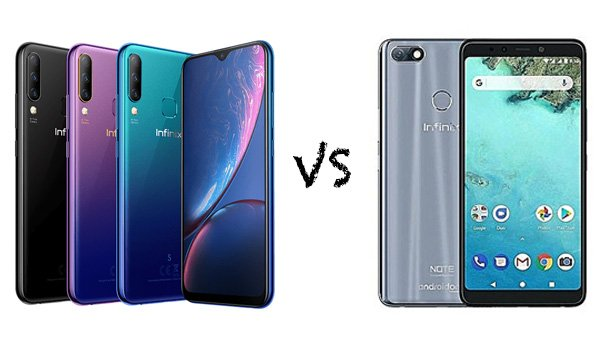 infinix hot s4 vs infinix note 5