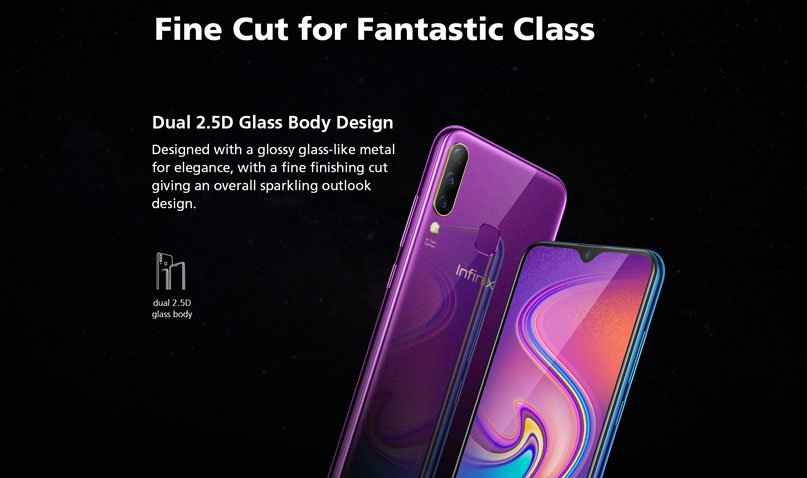 infinix hot s4 design