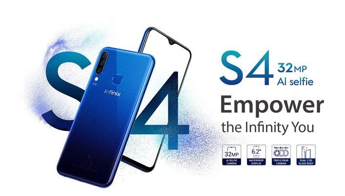 latest Infinix phones - S4
