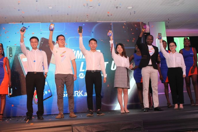 tecno spark 3 series launch