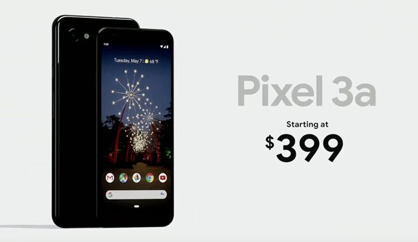 Pixel 3a starting price
