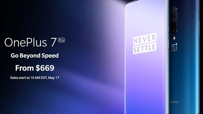 OnePlus 7 Pro starting price