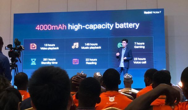 xiaomi redmi note 7 launch in nigeria