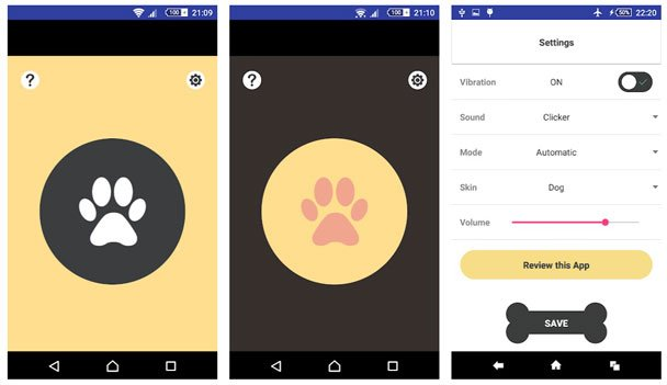 dog training apps