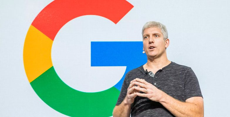 Google's Rick Osterloh, head of Hardware devices. Pixel Slate has been cancelled.