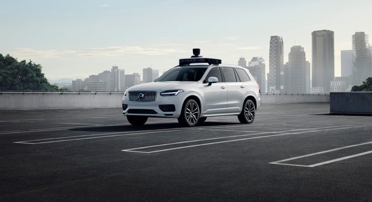Uber-Volvo self-driving cars