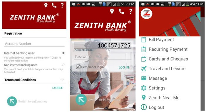 download zenith bank mobile app