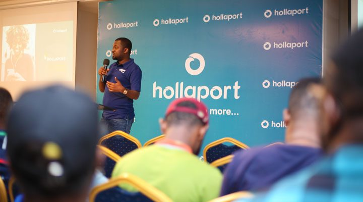 hollaport app launch
