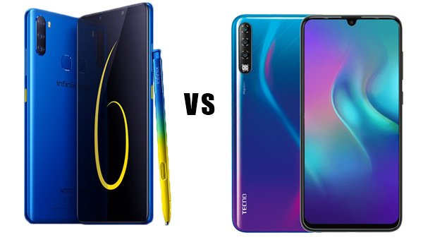 infinix note 6 vs tecno phantom 9