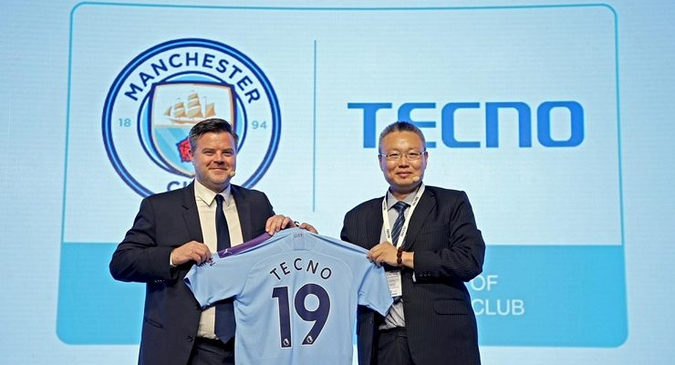 TECNO renews partnership with Manchester City