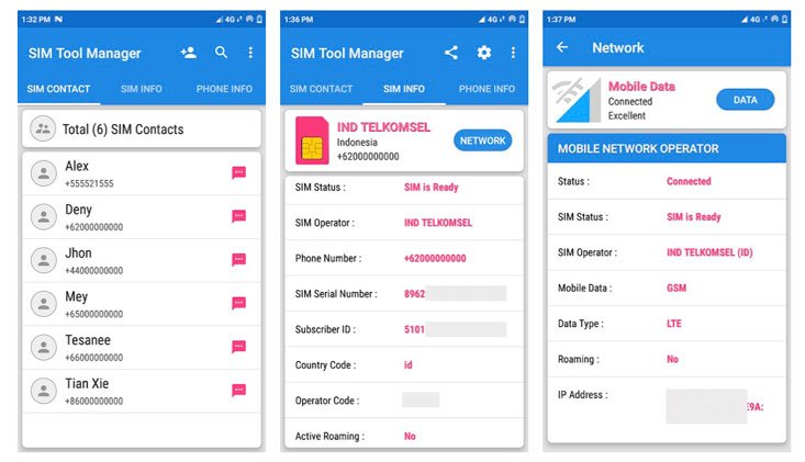 sim card manager apps