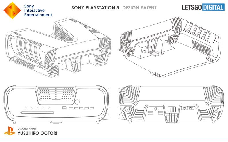 Sony PlayStation 5 devkit design