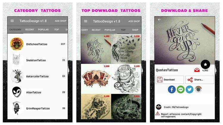 tattoo design apps
