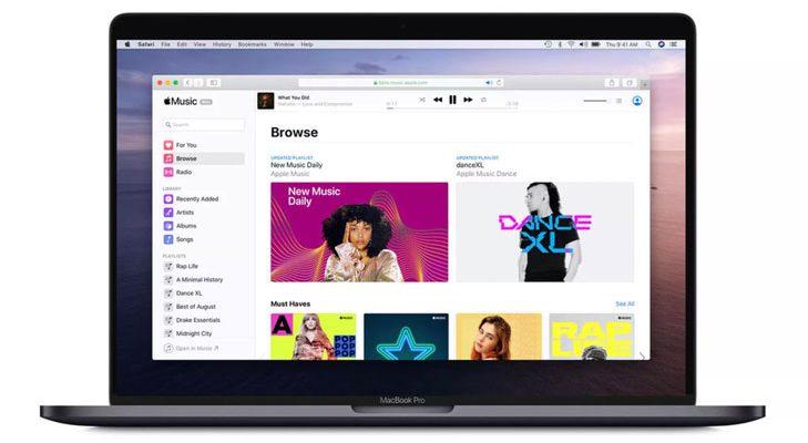 Apple Music for Web