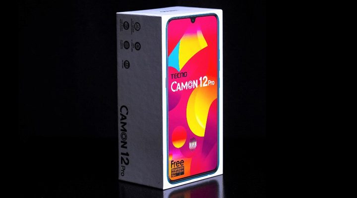 TECNO Camon 12 Pro unboxing