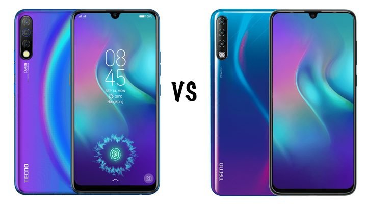 tecno camon 12 vs phantom 9