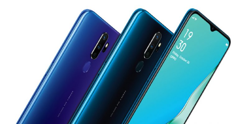 Lates Oppo phones in Nigeria and prices - Oppo A series 2020