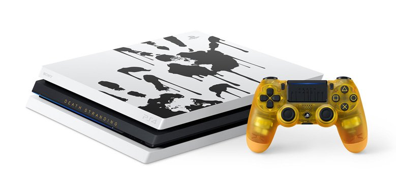 limited edition ps4 pro death stranding console