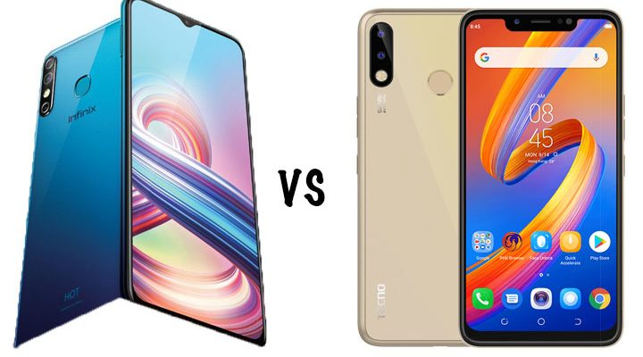Infinix Hot 8 vs TECNO Spark 3