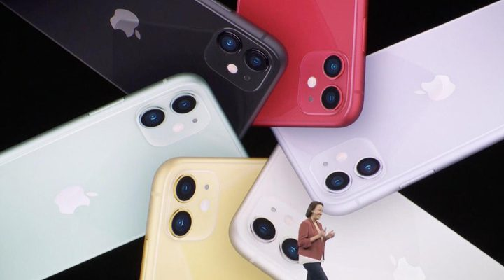 Apple iPhone 11 colours
