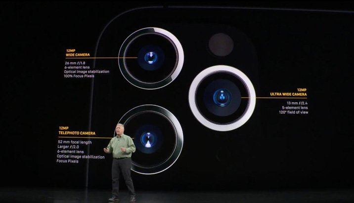 Apple iPhone 11 Pro Max camera