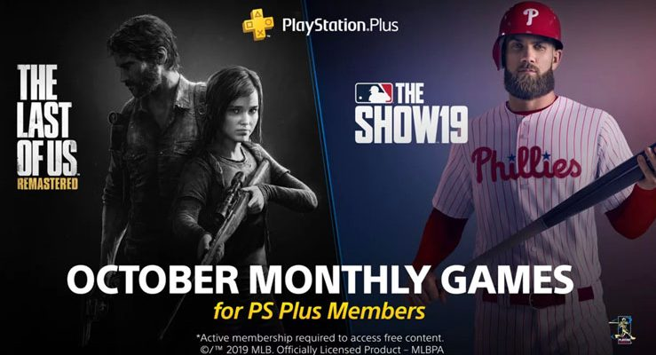 free ps plus games October 2019