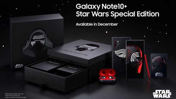 Samsung Galaxy note 10 plus star wars edition