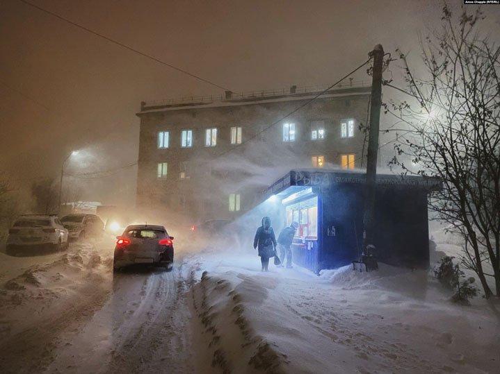 Murmansk Russia, iPhone 11 Pro camera