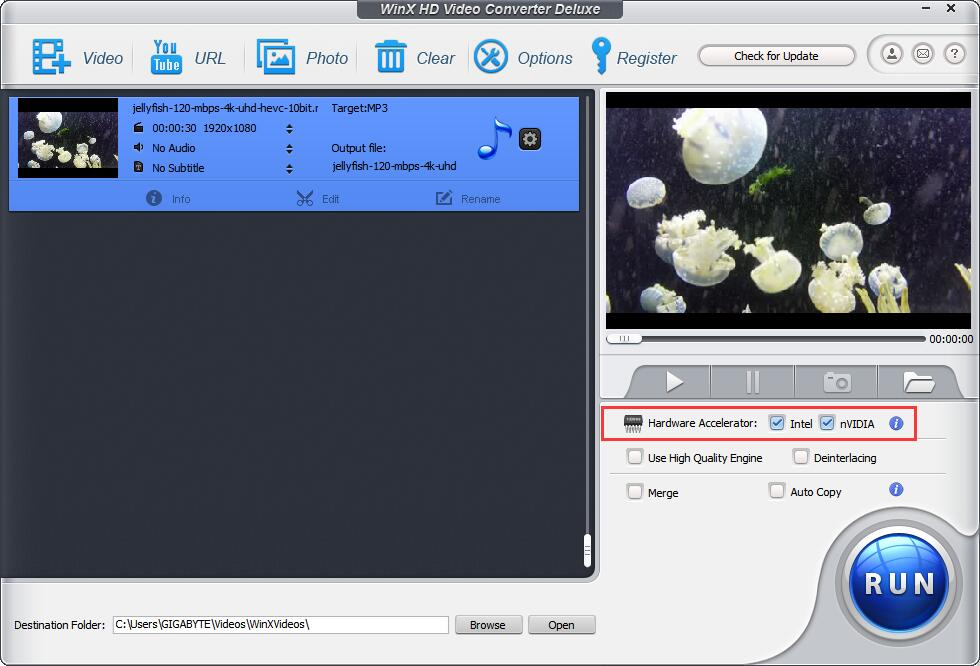Convert 4k MOV to MP4