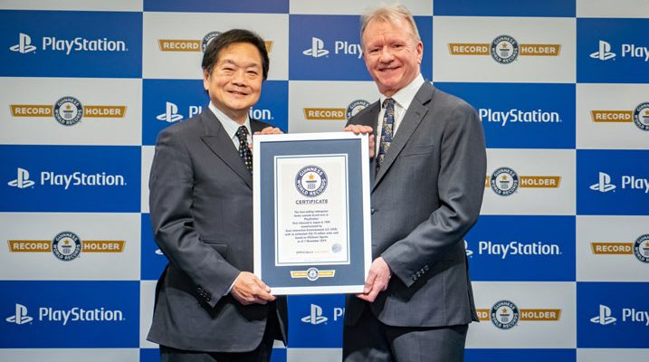 Playstation CEO receives best-selling video game console brand award